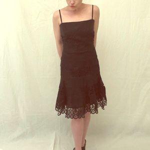 Black Lace Summer Dress